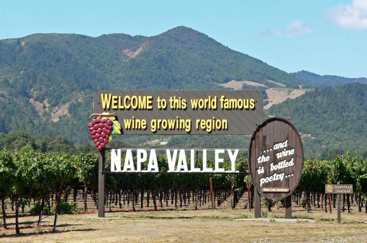 America through my eyes-Napa Valley