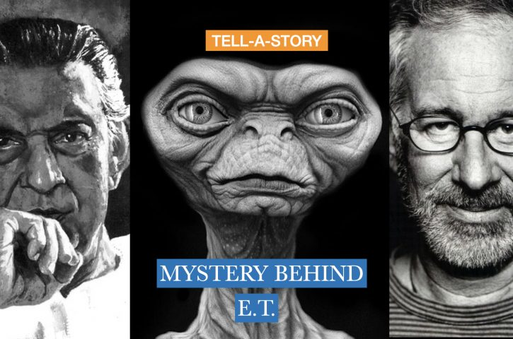 Tell-A-Story ( How Satyajit Ray Influenced Hollywood Movie E.T)