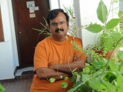"A Poem A Month -18 A Sigh From the Heart of a Poet (Telugu Original ""Kavi Mitrudi madi Urupu"" by Srinivas Vasudev)"