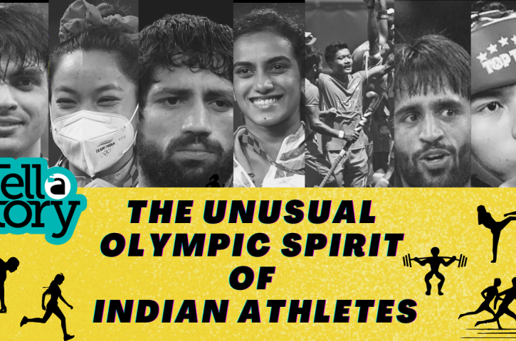 Tell-A-Story (Untold story of Olympic Spirt of Indian Atheletes)