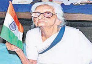 భారత స్వాతంత్ర్య పోరాటంలో పాల్గొన్న కొడాలి కమలమ్మ